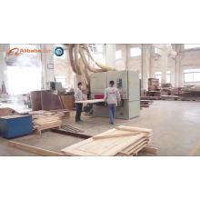 La Chine a produit la porte de chambre à coucher en bois pas cher de PVC de fabricant