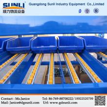 Dongguan Manufacturers Carton Gravity Roller Storage Warehouse Selective Rack