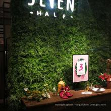 DIY Customized indoor wall artificial vertical garden for shops