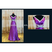 Vestido de dama de honra de estilo longo / Vestido de casamento
