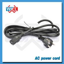 10 / 16A 250V estándar europeo vde enchufe del cable de alimentación con IEC