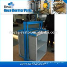 Pequeña cabina de acero para montacargas