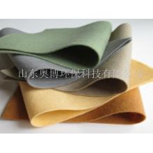 Fieltros no tejidos punzonados de fieltro de lana de alta calidad 100%, 50% lana, 50% poliéster