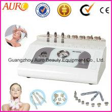 Diamant-Microdermabrasions-Gesichtsmassage-Haut, die Falten-Abbau-Ausrüstung weiß wird