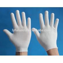13 gauge strickte Nylon / Polyester Hand Handschuhe Liner Inspektion Arbeitshandschuhe