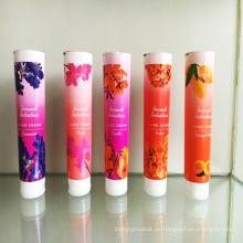China Pbl cosmético suave tubo casquillo superior del tirón