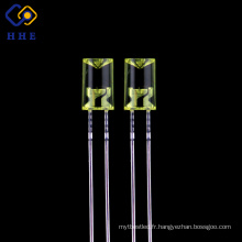LED de couleur ambre de 5mm a diffusé le fabricant / usine