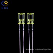 Fabricante difusor / fábrica dos diodos emissores de luz da cor âmbar de 5mm