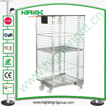 Metal Storage Roll Container Truck
