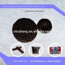 Remoção de odores e material anti-bactérias ativadas filtro de disco de carbono