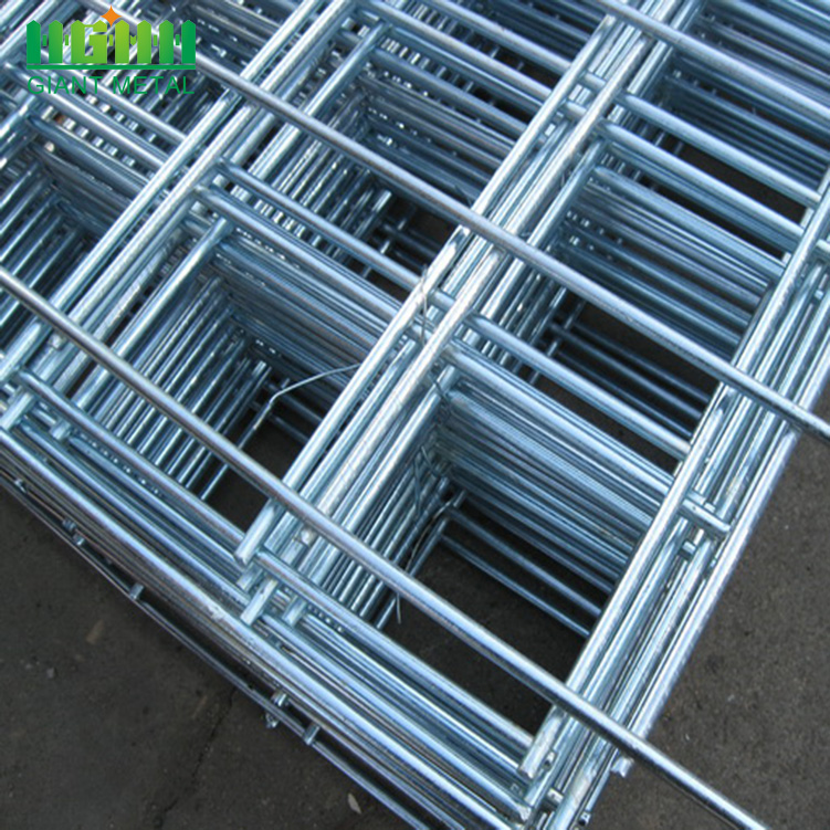 6x6 10/10 Welded Wire Mesh Fence Panel China Manufacturer