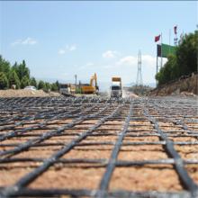 Geomalla de estiramiento biaxial / uniaxial para el refuerzo del suelo