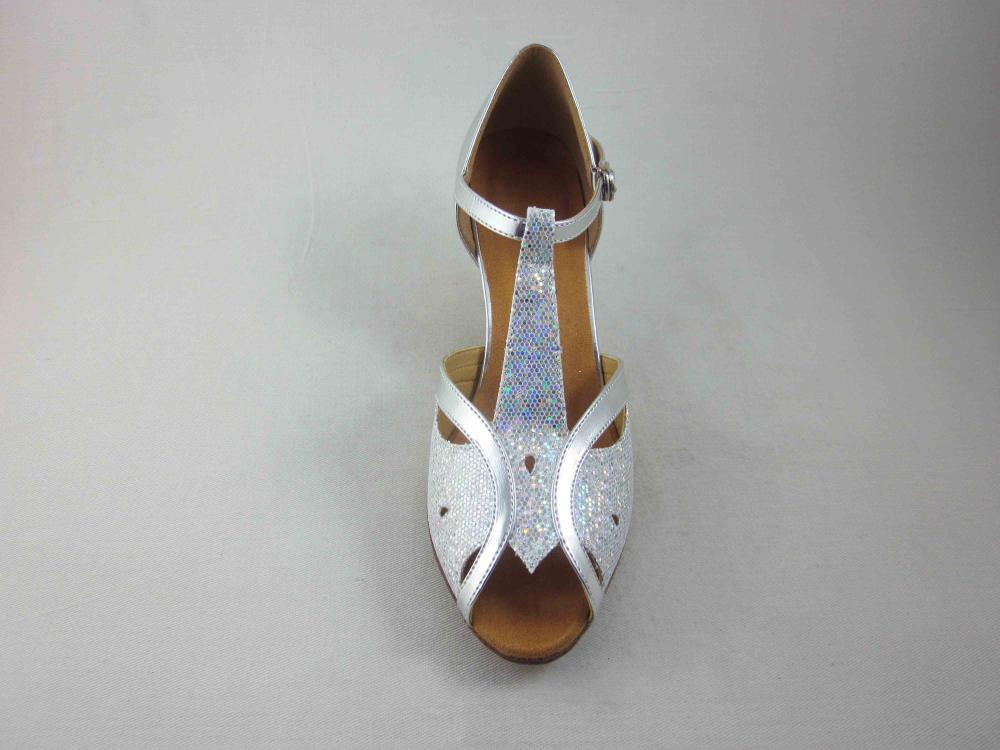 Silver Latin Shoes For Women