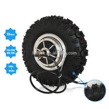 """48В 1000Вт 13"""" внедорожные шины двойной Вал Безщеточный мотор эпицентра деятельности для электрического самоката"""