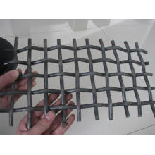 High Quality Black Steel Wire Crimped Mesh