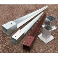 Post Anchor for Chain Link Fence