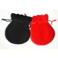 Customized velvet drawstring jewelry pouch