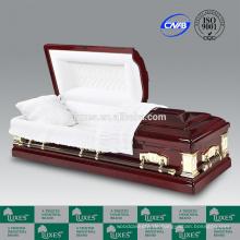 LUXES Schatulle Goodwill Beerdigung hölzerne Schatullen mit Sarg-Futter