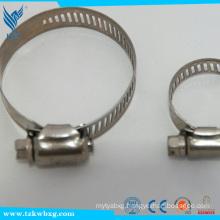 EN 316L14.2mm stainless steel hose hoops used in boat