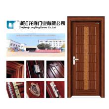 Porta de madeira Cabint da cozinha interior da porta do MDF (LTS-303)