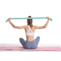 Polyester Cotton and latex long Yoga resistance band