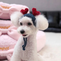 Fashionable Sweet Winter Pet Dog Knitted Hat