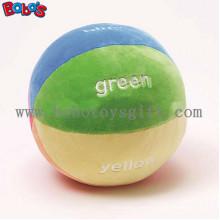 """5.9 """"Мягкие Красочные Плюшевые Baby Ball игрушки Детские образовательные погремушка Toybosw1055"""