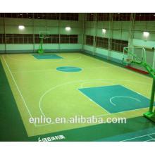 Mehrzweck-PVC-Sportboden für Basketball
