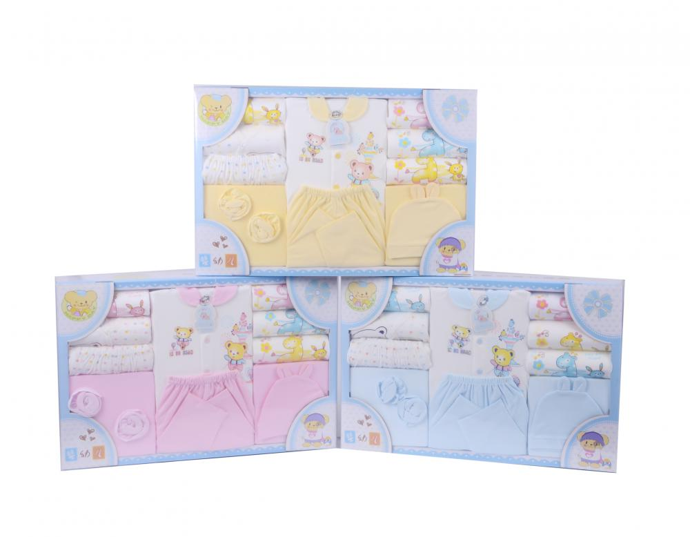 10 Pcs Newborn Baby Luxury Clothes Gift Sets(100% cotton)