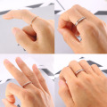 Wholesale Thin Rose Gold Ring Jewelry Sets