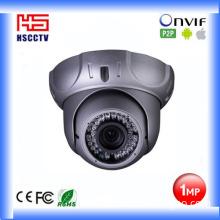 720p 1MP Metal Housing Dome IP Camera