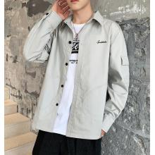 Neueste Design Herbst Plain Long Sleeve Men Shirt