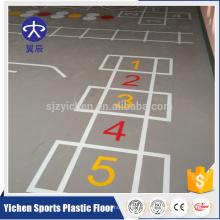 salle de fitness / salle de sport sécurité mobile ignifuge revêtement de sol durable en pvc
