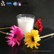 Vela de vaso de cristal barata de la nueva llegada de la protección ambiental con mejores ventas