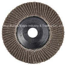 4′′ Calcination Oxide Flap Abrasive Discs (Plastic cover 22*13mm 40#)