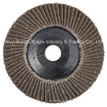 4 ′ ′ discos de abrasão de aba de óxido de calcinação (cobertura de plástico 22 * 16 mm 40 #)
