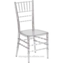 Chiavari chaise haute résine en résine de haute qualité
