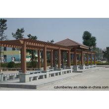 Eine neue Generation des umweltschützenden WPC-Pavillons