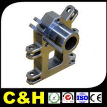 China Customized CNC precisão aço alumínio latão usinagem torneamento peças