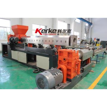 Machine de fabrication de granulés de recyclage de matières plastiques souples et commodes