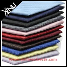 Tissu de couleur unie en soie tissée italienne