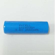 batterie au lithium ER14505 d'énergie de taille Li-SOCl2 batterie au lithium