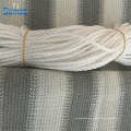 Colorido balcón malla cortaviento malla utilizada para esgrima