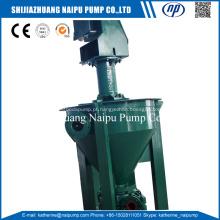 4 bomba de espuma vertical de flotação de mineração AF-RV