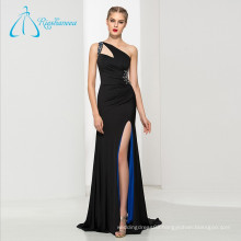 Crystal Beading Split Front Sexy Prom Dresses