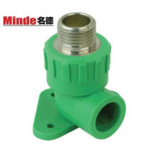 PPR Fittings with Brass, PP-R Fitting, Elbow with Brass, Elbow, Brass Fitting