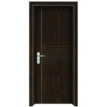 Porte int rieure en bois en pvc for Porte interieure pvc