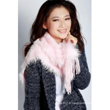 Écharpe en tricot acrylique (12-BR251812-3.1)