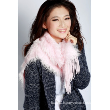 Acrylic Knitted Scarf (12-BR251812-3.1)