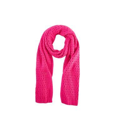 Girls's Fashion Hollow Knit Scarf Winter Warm Scarves